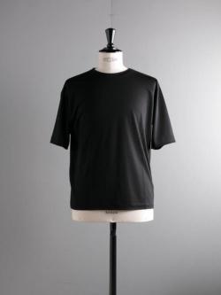 BATONER | BN-19SM-023 Black ウォッシャブルウールTシャツ