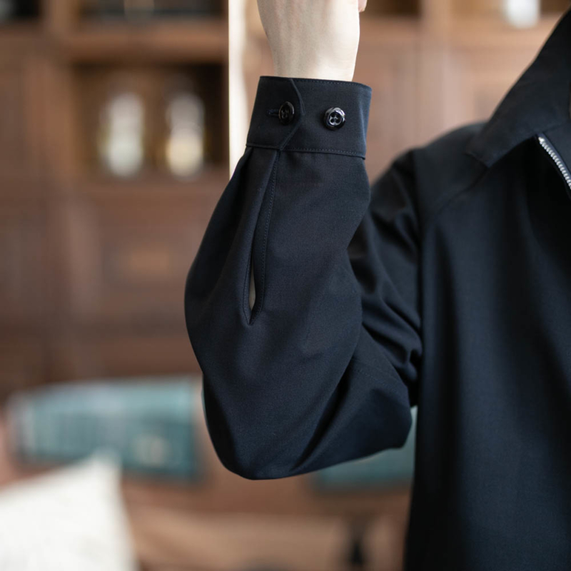 サンリミット ハリントンジャケット ネイビーの通販取り扱い