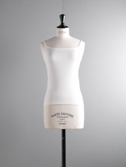 FilMelange | EMILY White コットンフライスキャミソール エミリーの商品画像