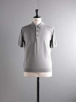BATONER | BN-19SM-022 Gray GIZA45コットンポロシャツの商品画像