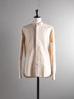 COTTON LINEN SHIRT Beige
