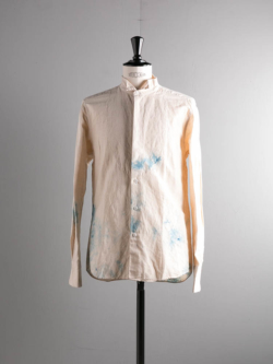 COTTON LINEN SHIRT Blue/Tie Dye