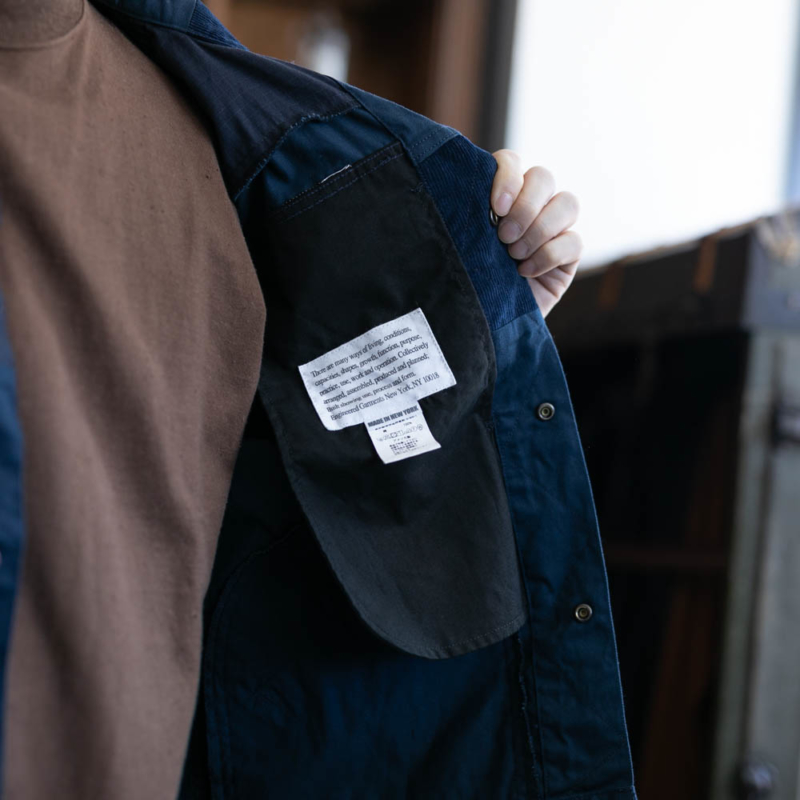 2019SS エンジニアードガーメンツ TRUCKER JACKET – 6.5OZ FLAT TWILL Navy
