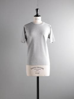 BATONER | BN-19SL-022 Gray スムースニットTシャツの商品画像