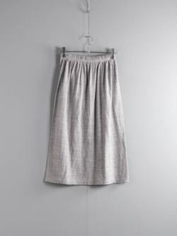 FilMelange | LIBBY Campione Melange 吊り編み天竺ロングスカートの商品画像