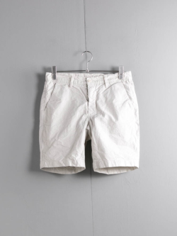 Tapia LOS ANGELES | SHORT ARMY DUCKS 6.5OZ Garment Dyed Silver ダック生地ショーツの商品画像