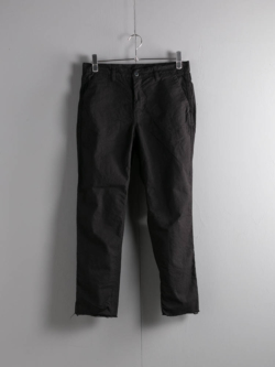 EASY CHINO ARMY DUCKS 6.5OZ Garment Dyed Black