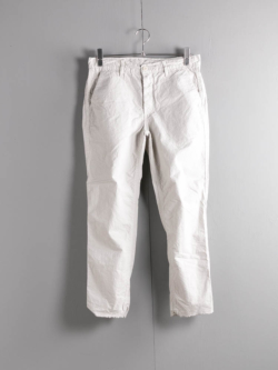 EASY CHINO ARMY DUCKS 6.5OZ Garment Dyed Silver