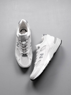 NEW BALANCE | M991POW White Grey 【MADE IN ENGLAND】の商品画像
