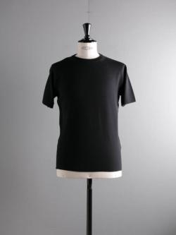 BATONER | BN-19SM-019 Black スムースニットTシャツの商品画像
