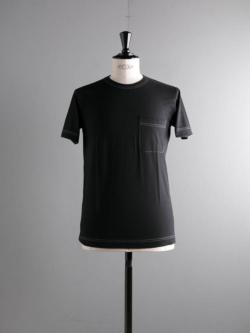 Sans Limite | T001 Black 天竺半袖Tシャツの商品画像