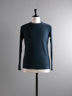 Sans Limite | T005 TC Dark Navy パイル長袖Tシャツの商品画像