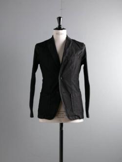 Tapia LOS ANGELES | JACKET PATCH POCKETS ARMY DUCKS 6.5OZ Garment Dyed Black ダック生地テーラードジャケットの商品画像