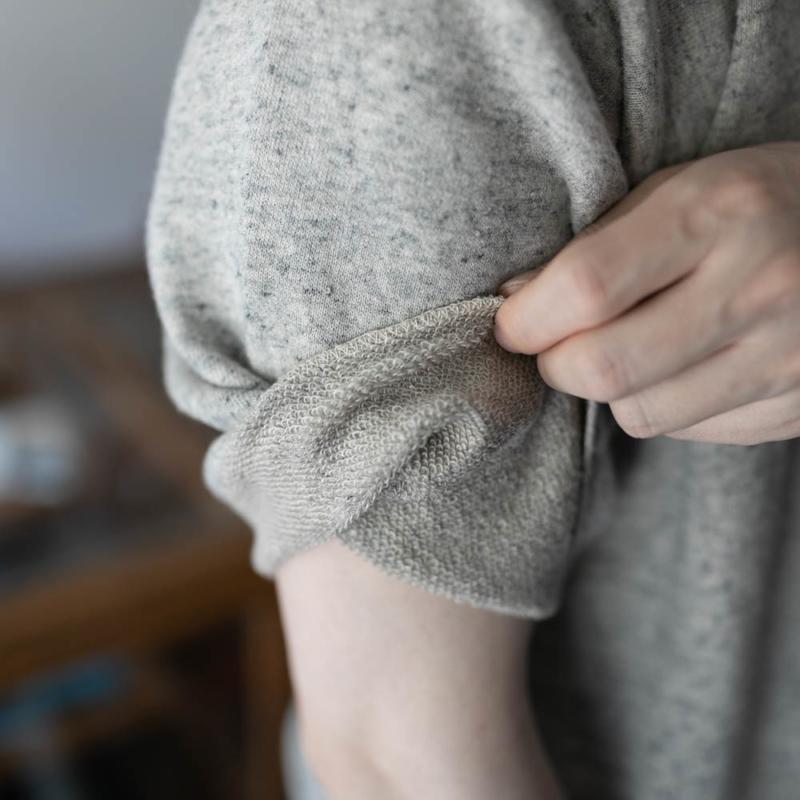 フィルメランジェ エアリネン半袖スウェットシャツ カール メランジェの通販取り扱い