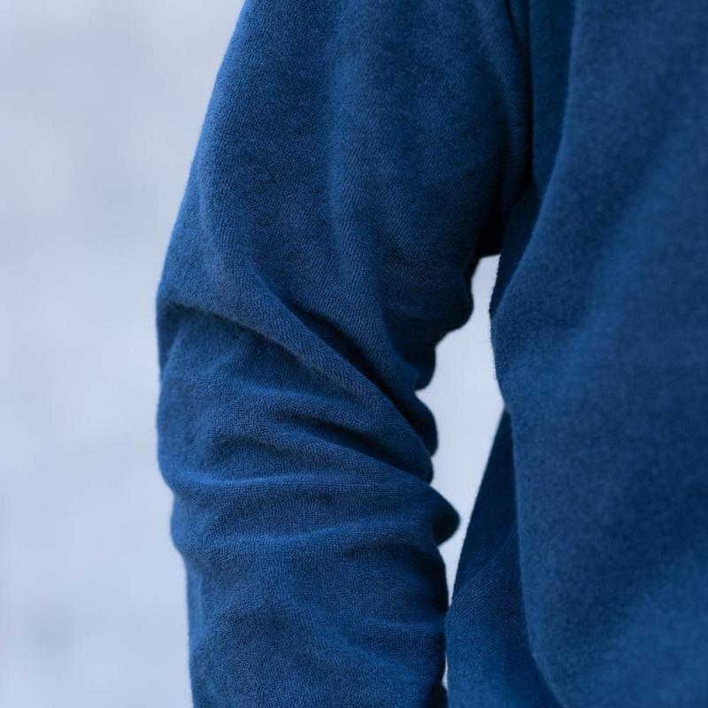 サンリミット パイル長袖Tシャツ ネイビーの通販取り扱い