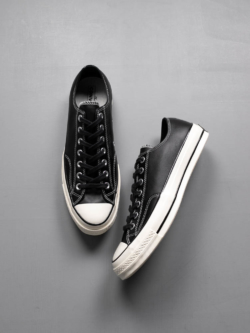 CONVERSE | CHUCK TAYLOR ALL STAR '70 LEATHER LOW TOP Black CT70 OX チャックテーラー レザーローカットの商品画像