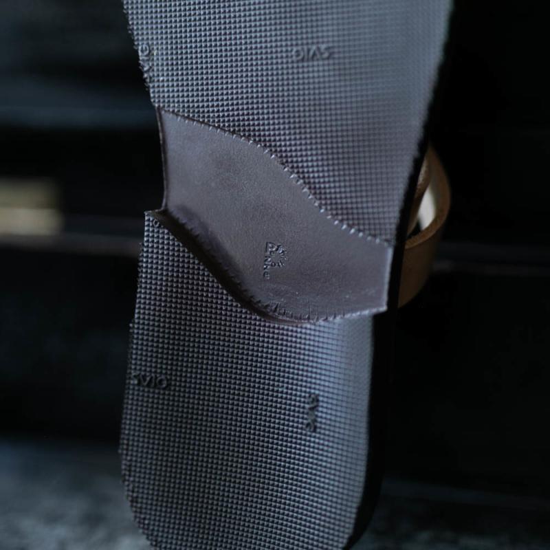 究極の一足 PEZZETTINO レザーサンダルの通販取り扱い