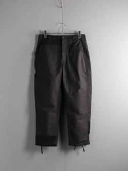 PAINTER PANT - DOUBLE CLOTH Black