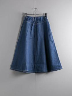 Westoveralls | F-B SKIRT DENIM Indigo デニムスカートの商品画像