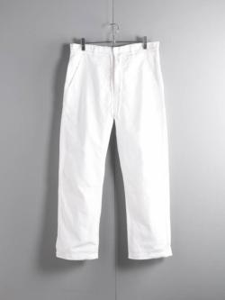 AULICO | PANTS White ドローストリングパンツの商品画像