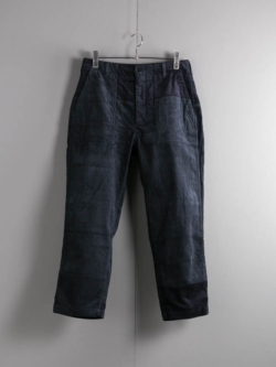 ENGINEERED GARMENTS | FATIGUE PANT – 8W CORDUROY Navy ファティーグパンツ
