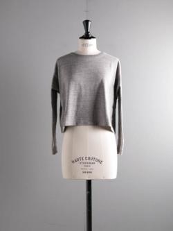FilMelange | LENA Campione Melange オーガニックラフィー天竺長袖Tシャツ レーナの商品画像