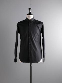 Sans Limite | W1301001 SH01 Black ブロードレギュラーカラーシャツの商品画像