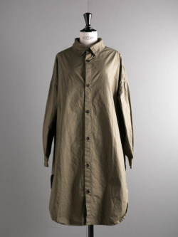 OVERSIZED SHIRTS COTTON CAMBRIC Olive
