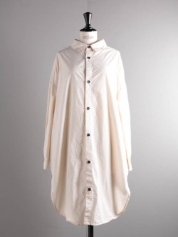 OVERSIZED SHIRTS COTTON CAMBRIC Natural