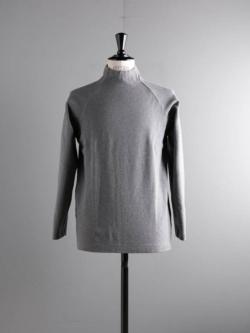 Sans Limite | W1902025 Grey スパンフライスハイネックカットソーの商品画像