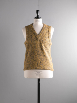 FRANK LEDER | YELLOW WOOL VEST 55-Yellow ウールベストの商品画像