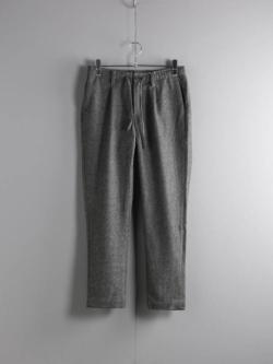ARBRE | HOMESPUN ONETUCK EASY PANT Gray/Navy ホームスパンツイードイージーパンツの商品画像