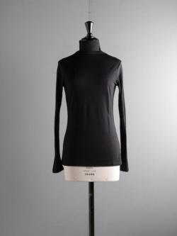 ABOUT | UOGATOP3 Black ウール混ハイネックの商品画像