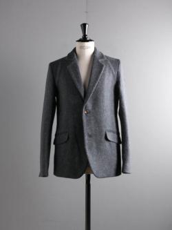 "FRANK LEDER | ""DOG"" WOOL 2B JACKET 35-Blue ドッグウールテーラードジャケットの商品画像"