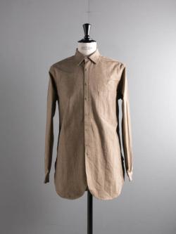 FRANK LEDER | BRANDENBURG COTTON SHIRT 83-Beige ブランデンブルグコットンシャツの商品画像