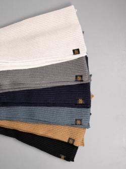 BATONER | BN-19FI-009 ウール畦編みマフラーの商品画像