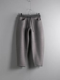 BATONER | BN-19FM-051 Gray 起毛ウールニットパンツの商品画像