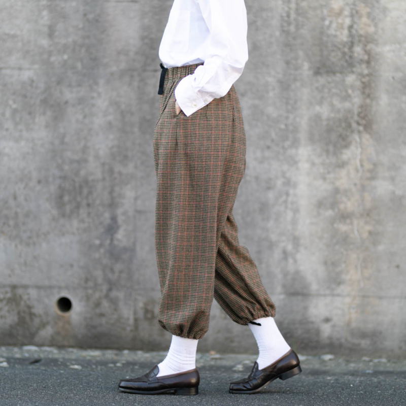 ENGINEERED GARMENTS GUNCLUB CHECK BALLOON PANT