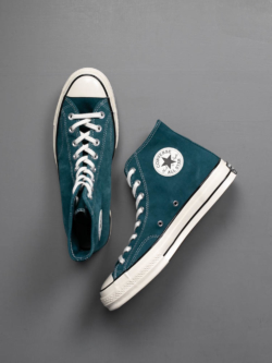 CHUCK TAYLOR ALL STAR '70 SUEDE HIGH TOP Midnight Turquoise