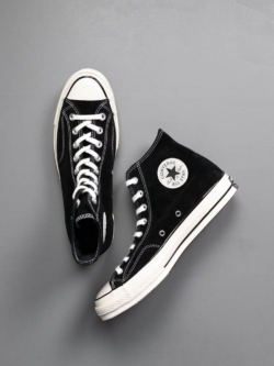 CHUCK TAYLOR ALL STAR '70 SUEDE HIGH TOP Black
