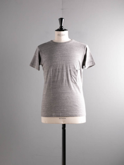 FilMelange | DIZZY Campione Melange 半袖クルーネック胸ポケTシャツの商品画像