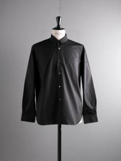 Sans Limite | W1801101 SH01B Black ブロードボックスレギュラーカラーシャツの商品画像
