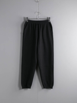 KNIT PANTS Black