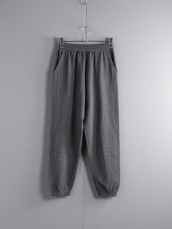 KNIT PANTS Grey