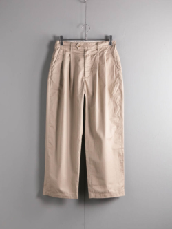 ENGINEERED GARMENTS | EMERSON PANT – HIGH COUNT TWILL Khaki エマーソンパンツ