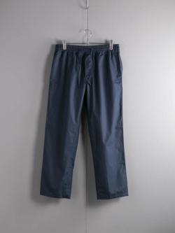 APPLETREES | WEEKEND PANT Midnight Blue ポプリンドローストリングウィークエンドパンツの商品画像