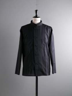ENGINEERED GARMENTS | DAYTON SHIRT – TROPICAL WOOL Dk. Navy デイトンシャツの商品画像