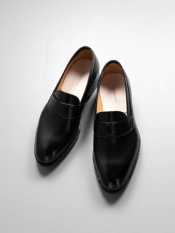 CALMANTHOLOGY | A4958 OPERA LOAFER Black オペラローファー