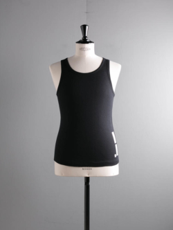 AK004 AIR-KNIT SINGLET Black