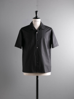 ITALIAN COLLAR COMFORT SHIRT Black